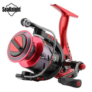 SeaKnight PUCK ARCHER Spinning Reel 4.9:1 5.2:1 Fishing Reel 13KG Max Drag Power Spinning Wheel Long Casting Fishing 2000-6000
