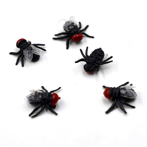 10Pcs Realistic Housefly  for Trout Fishing Nymphing Wet Fly Insect Bait Lure