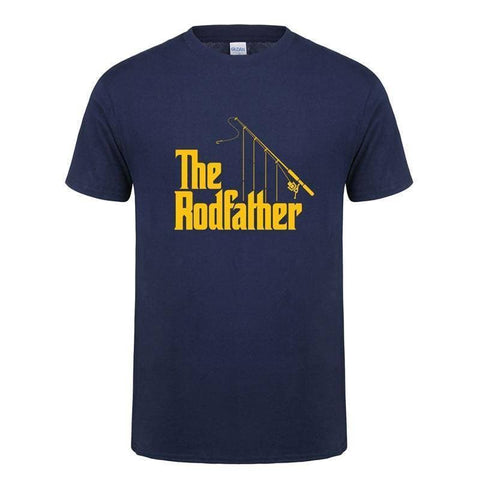 The Rodfather T-shirt - Brag Fishing Australia
