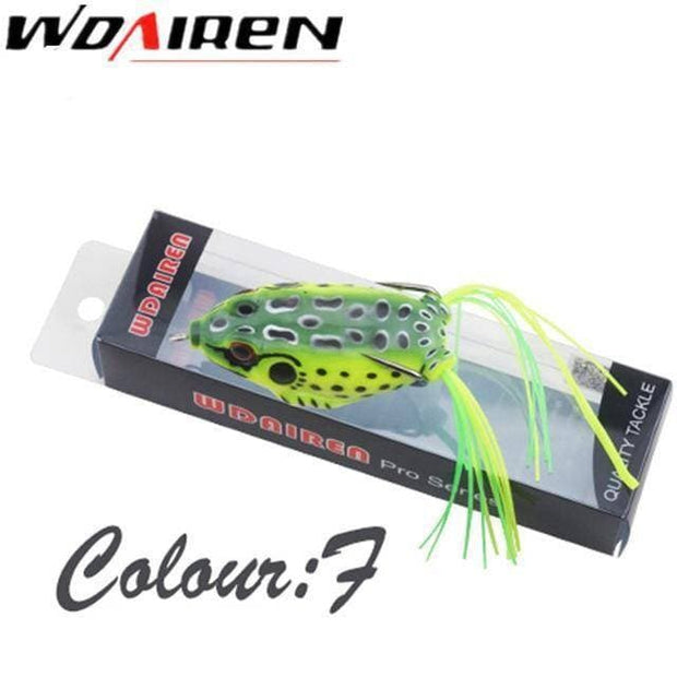 High Quality Kopper Live Target Frog Lure 6cm/12g Snakehead Lure Topwater Simulation 1Pcs - Brag Fishing Australia
