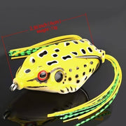 13g 9g 6g Frog Fishing Lures Treble Hooks Topwater Ray Frog - Brag Fishing Australia