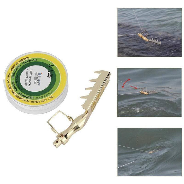 Stainless Steel Hard Bait Retriever Bait Rescue Lure Saver - Brag Fishing Australia