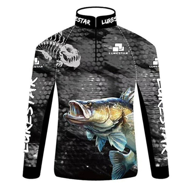 Lure Star Lightweight Soft Sunscreen Clothing Anti-UV Jersey Long Sleeve Shirts - Brag Fishing
