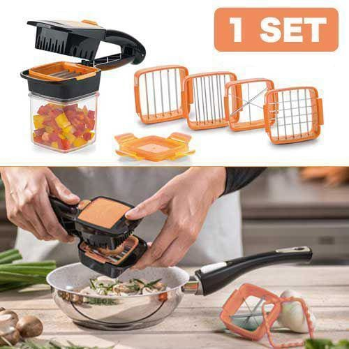 Multi-Cut Quick Food Chopper