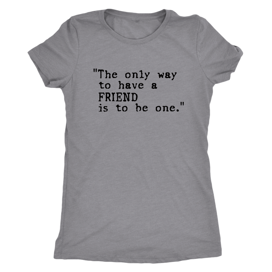 Friends Women T Shirt - Friends of the Children of Venezuela
