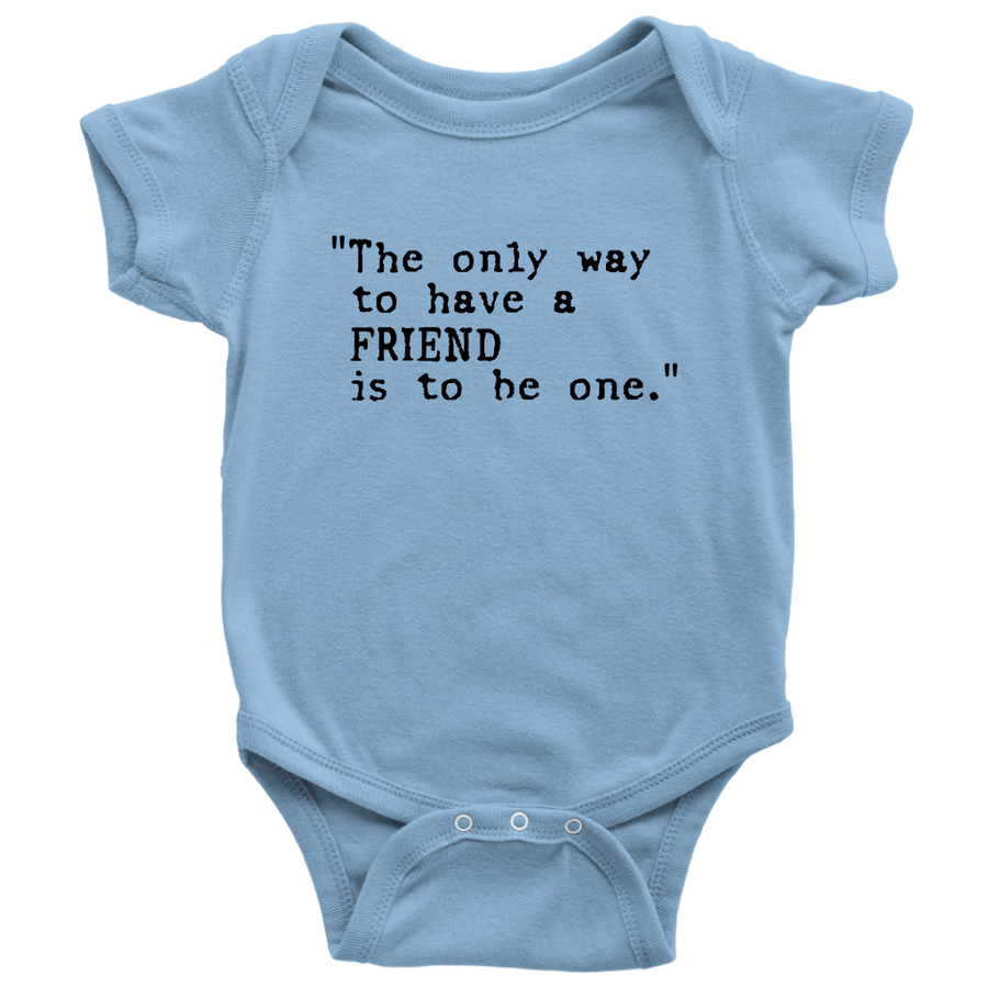Baby Body Suit - Friends of the Children of Venezuela