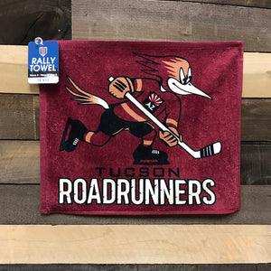 "Tucson Roadrunners Wincraft 15"" x 18"" Rally Towel"
