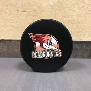 Tucson Roadrunners Wincraft Head Logo Puck