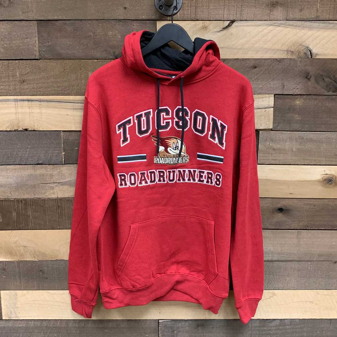 Tucson Roadrunners Colosseum Comic Book Pullover Hood - Maroon