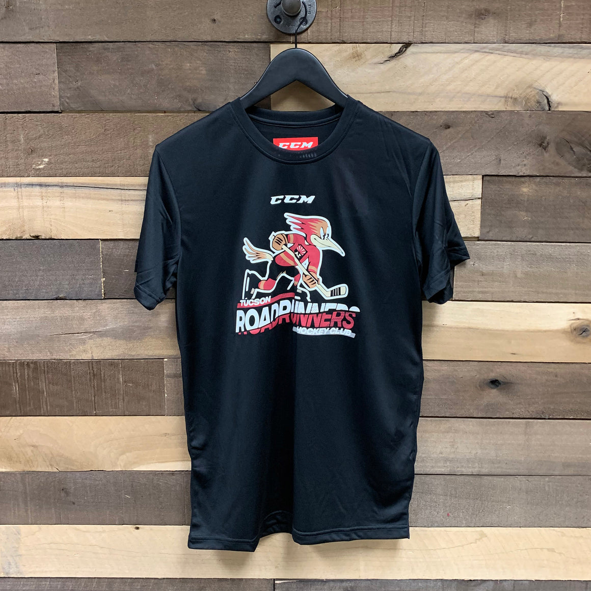 Tucson Roadrunners CCM Slashed Wordmark Tee - Black