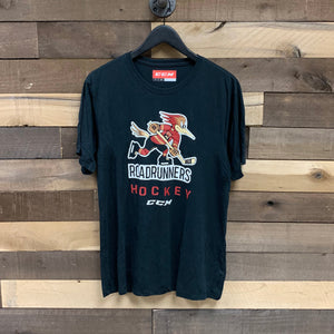 Tucson Roadrunners CCM Logo Hockey Tee - Black