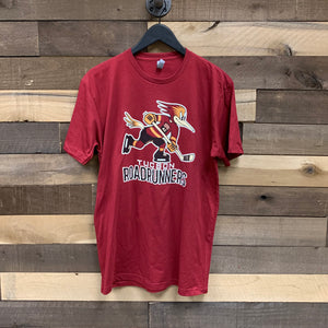 Tucson Roadrunners Primary Logo Tee - Red