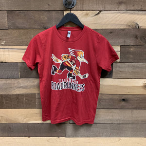 Tucson Roadrunners Youth Primary Logo Tee - Red