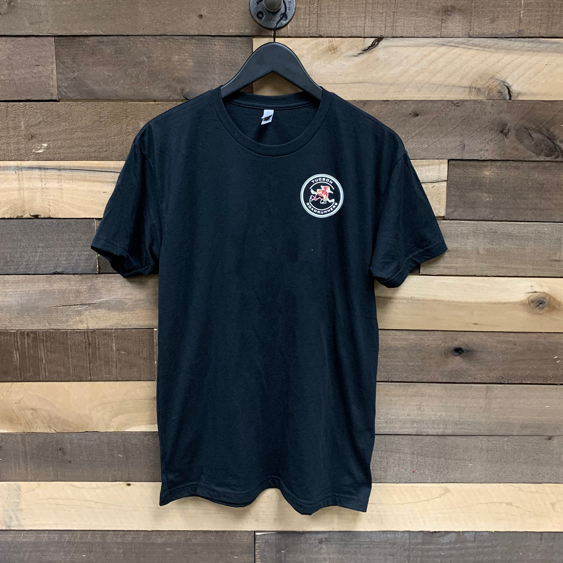 Tucson Roadrunners Front & Back Circle Tee - Black