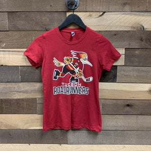 Tucson Roadrunners Women's Primary Logo Tee - Red