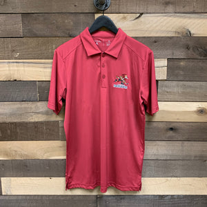 Tucson Roadrunners CCM Tribute Full Mark Polo - Red