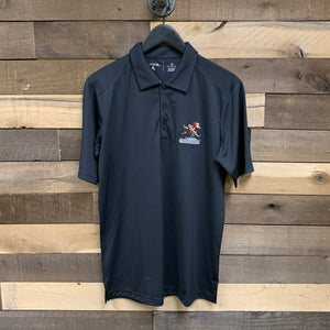 Tucson Roadrunners CCM Tribute Full Mark Polo - Black
