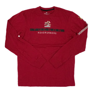 Tucson Roadrunners Colosseum Blitzgiving Long Sleeve Tee - Maroon