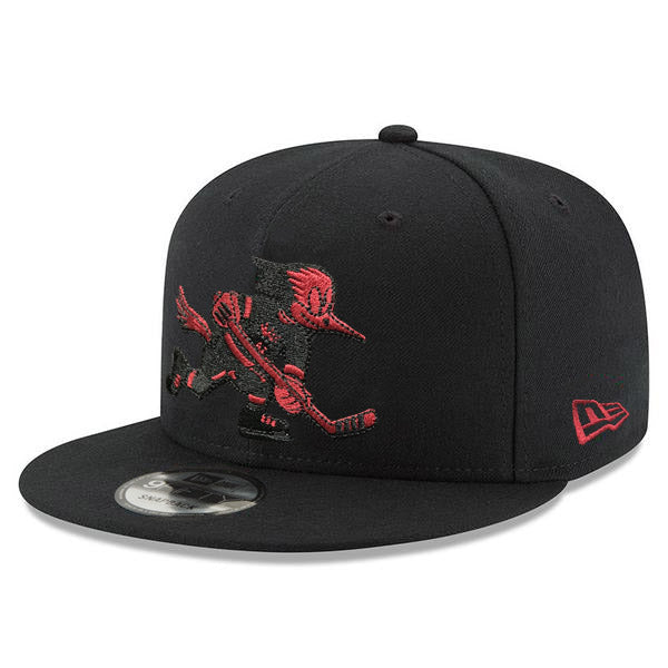Tucson Roadrunners New Era Red/Black Logo 9FIFTY - Black