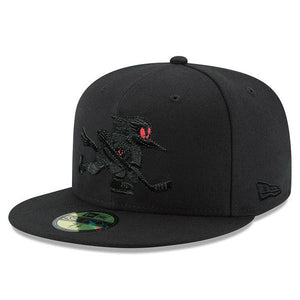 Tucson Roadrunners New Era Red Eyes 59FIFTY - Black