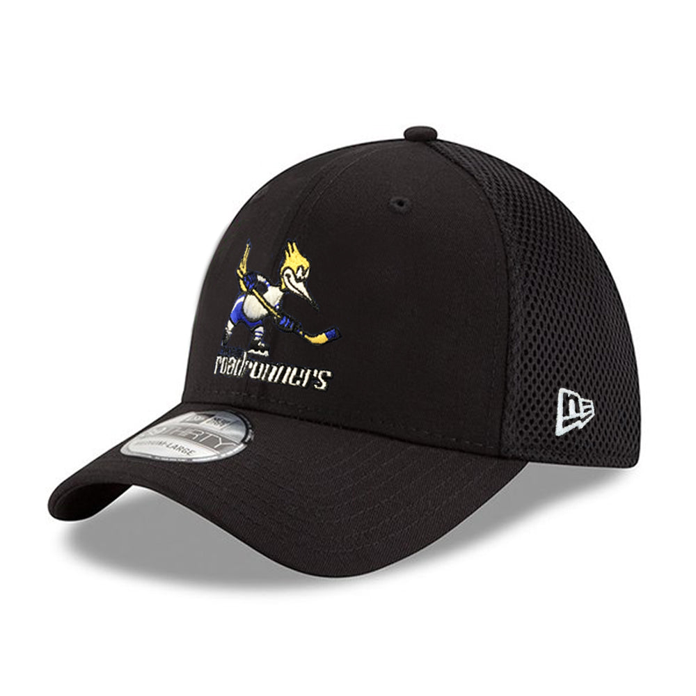 Tucson Roadrunners New Era Throwback CM Neo 39THIRTY - Black
