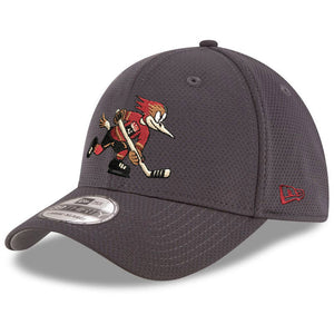 Tucson Roadrunners New Era Official Logo Performance 9FORFTY - Graphite
