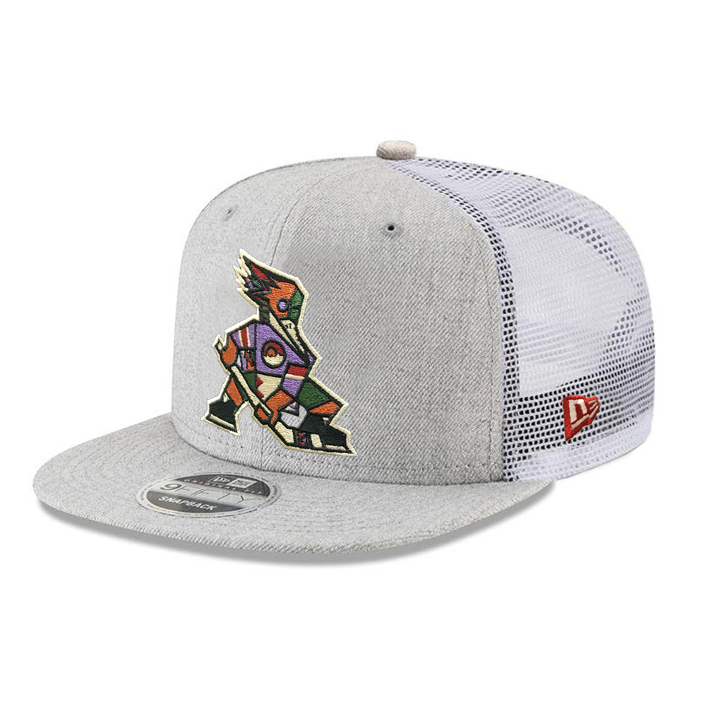Tucson Roadrunners New Era Kachina Trucker 9FIFTY - Heather
