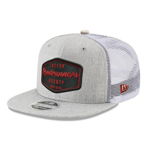 Tucson Roadrunners New Era Surfer Trucker 9FIFTY - Gray