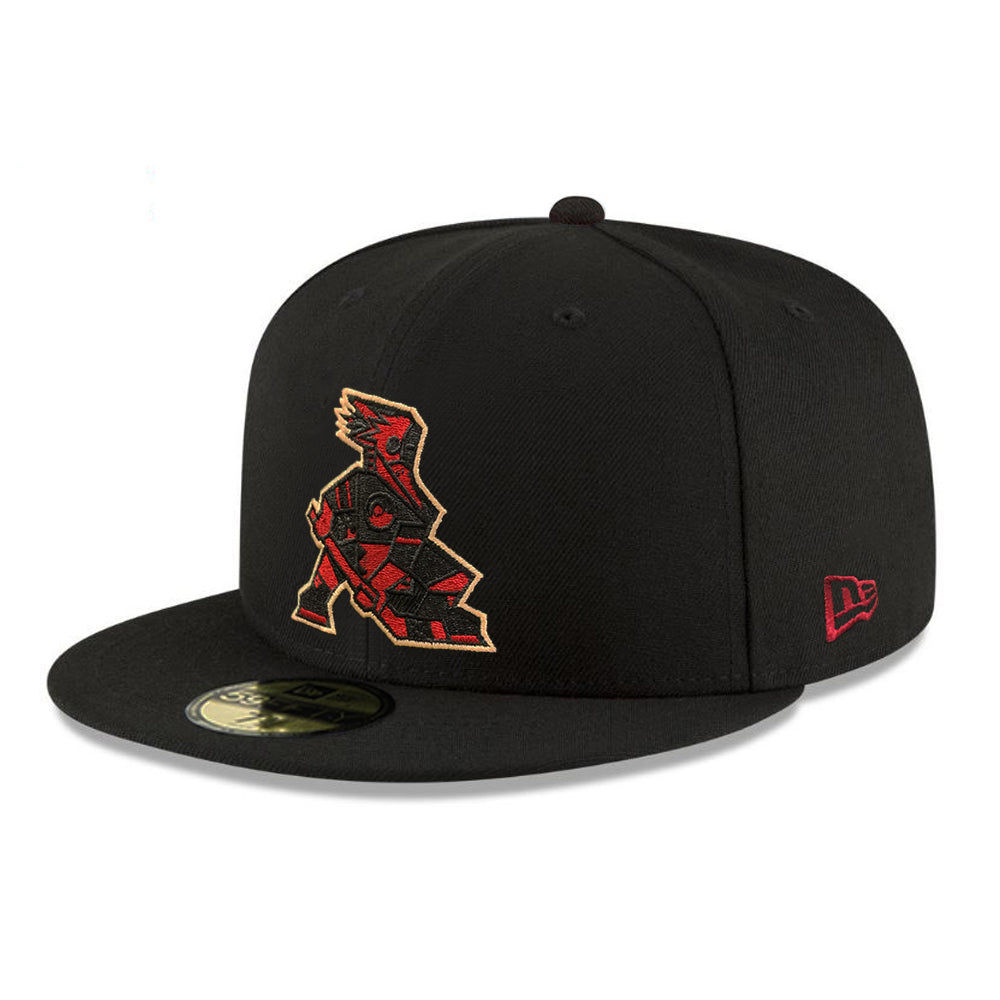 Tucson Roadrunners New Era Outliner Kachina 59FIFTY - Black