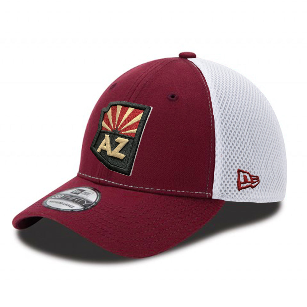 Tucson Roadrunners New Era State Flag Neo 39THIRTY - Red