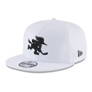 Tucson Roadrunners New Era Black Logo 9FIFTY - White