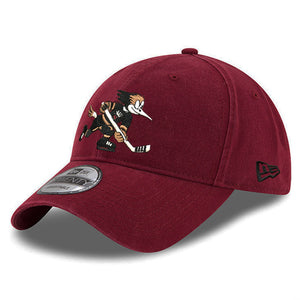 Tucson Roadrunners New Era Black/Red Logo 9TWENTY - Red