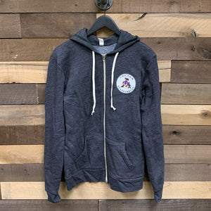 Tucson Roadrunners Blue 84 Versatile Full Zip Hoodie - Black