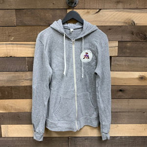 Tucson Roadrunners Blue 84 Versatile Full Zip Hoodie - Heather