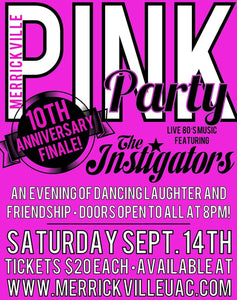 Sept 14 - Pink Party 10th Anniversary