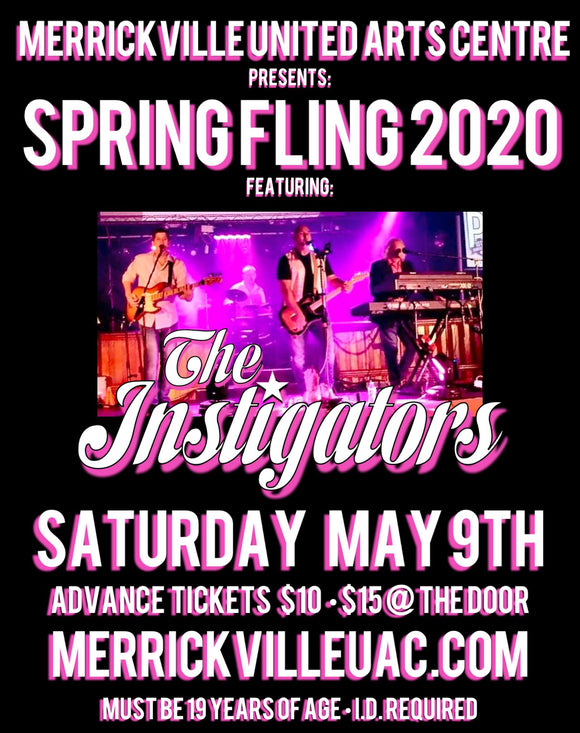 May 9 - MUAC Spring Fling 2020 with The Instigators