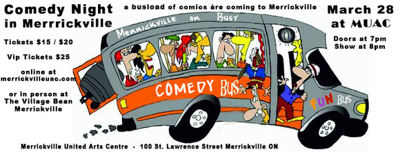 March 28 - Comedy Night in Merrickville