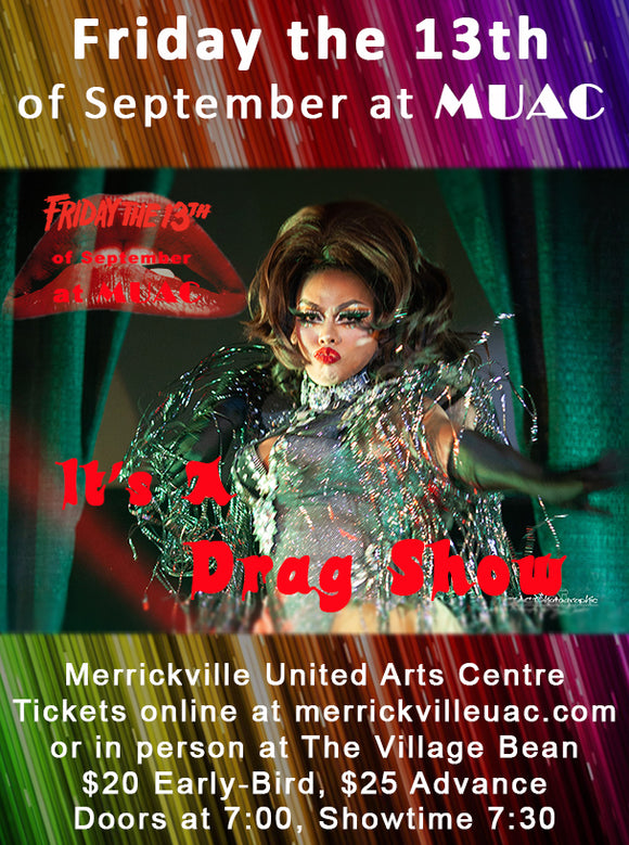 September 13 - It's A Drag Show