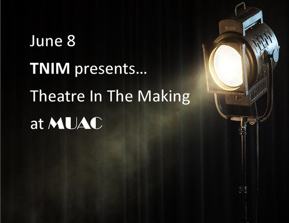 June 8 - TNIM presents Theatre in the Making at MUAC