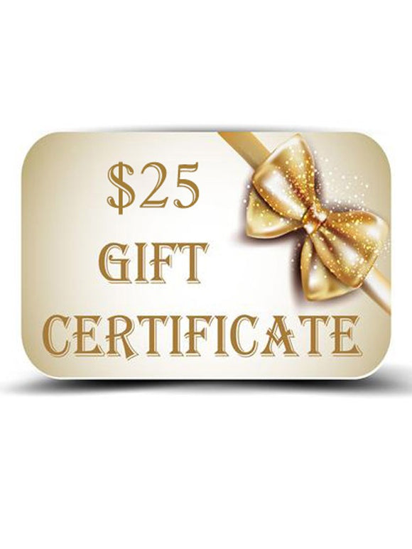 $25 Gift Certificate for MUAC