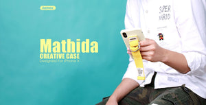 Mathilda Series Case with ring holder for iPhoneX - Remax online