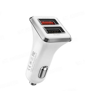 Car Charger Dual USB Ports Charger WP-C19