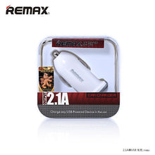 Load image into Gallery viewer, Car Charger Single Port 2.1A RCC101 - Remax online