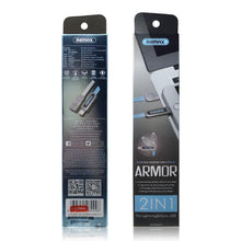 Load image into Gallery viewer, Armor Series 2 in 1 Micro/ Lightning  Data Cable RC-067t - Remax online