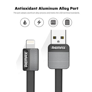 Platinum Cable for Lightning RC-044i -- Charging & Data Cable - Remax online