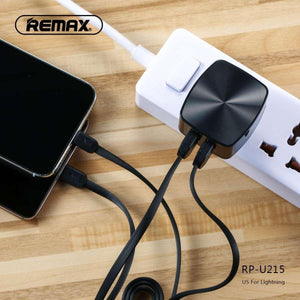 2.4A Dual USB Charger & Data Cable for Micro RP-U215
