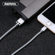 Load image into Gallery viewer, Cotton Weave Cable for Lightning RC-064i -- Charging & Data Cable - Remax online