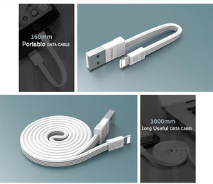 Tengy Series 2 Pack Lightning Data Cable (1M & 16cm) RC-062i -- Charging & Data Cable - Remax online