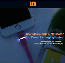 Load image into Gallery viewer, Breathe Lightning Cable with LED indicator RC-029i -- Charging & Data Cable - Remax online