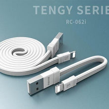 Load image into Gallery viewer, Tengy Series 2 Pack Lightning Data Cable (1M & 16cm) RC-062i -- Charging & Data Cable - Remax online